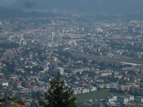 Blick auf Villach (A)