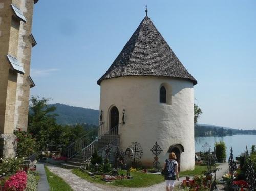 072 MARIA WÖRTH Kirche St. Anna ob Reifnitz