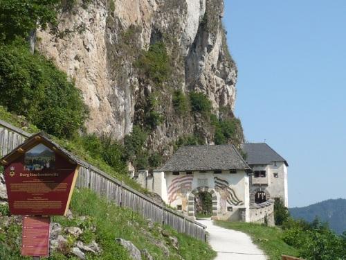 117 Burg HOCHOSTERWITZ Aufstieg