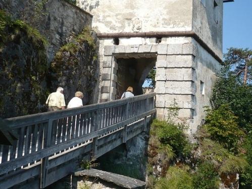 119 Burg HOCHOSTERWITZ Aufstieg