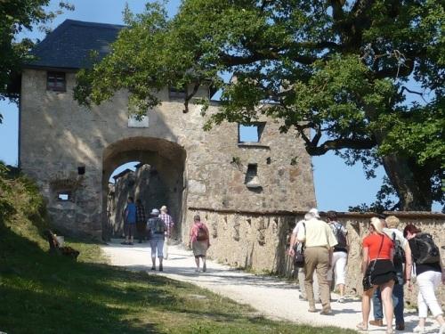 120  Burg HOCHOSTERWITZ Aufstieg