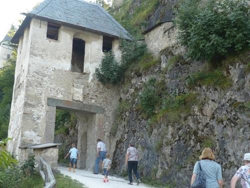 124 Burg HOCHOSTERWITZ Aufstieg