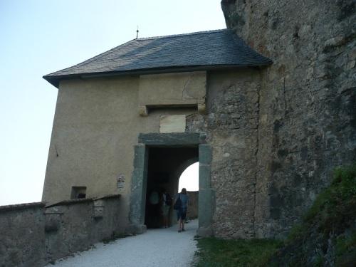 126 Burg HOCHOSTERWITZ Aufstieg