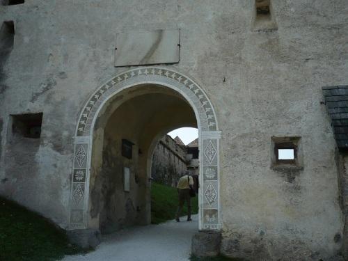 128 Burg HOCHOSTERWITZ Aufstieg
