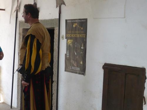 133 Burg HOCHOSTERWITZ Burghof-Empfang