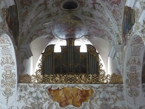159 OSSIACH a. See STIFTSKIRCHE Orgel