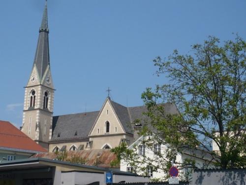 192 VILLACH Stadtbild 5 Stadthauptpfarrkirche
