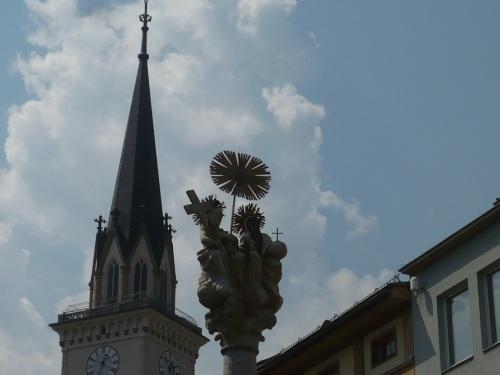 193 VILLACH Stadtbild 6 Stadthauptpfarrkirche