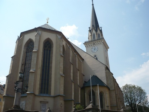 194 VILLACH Stadtbild 7 Stadthauptpfarrkirche