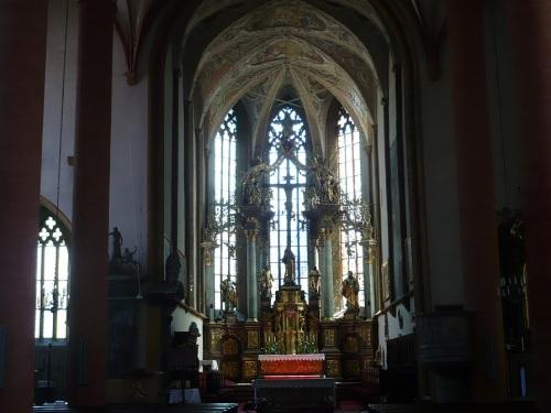 195 VILLACH Stadthauptpfarrkirche Altar