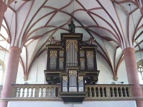 196 VILLACH Stadthauptpfarrkirche Orgel