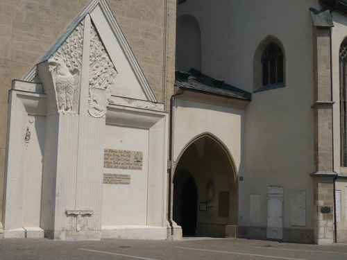 197 VILLACH Stadtbild 8 Stadthauptpfarrkirche
