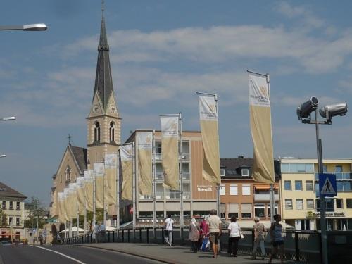 201 VILLACH Stadtbild 20 Drau - Brücke