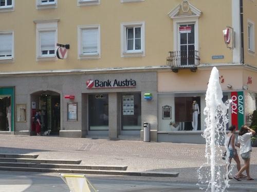 203 VILLACH Stadtbild 14 Bank