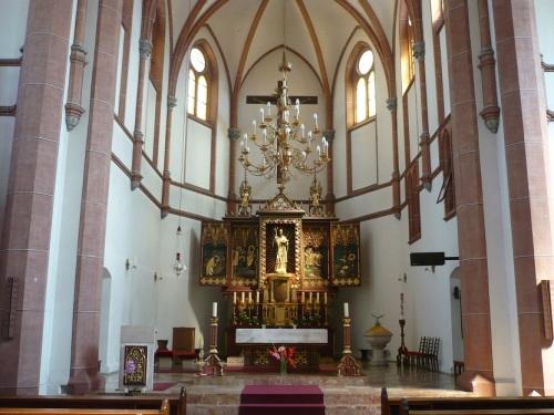 211 VILLACH In der Kirche St. Nikolai Altar