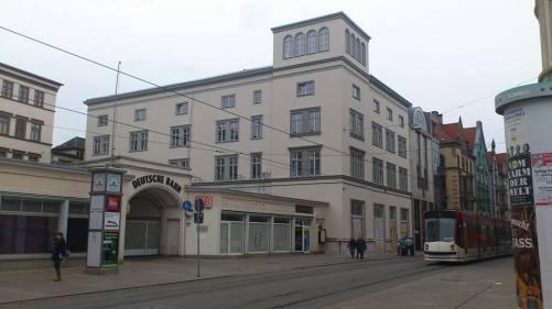Bahnhofstraße ehem. Dtsch.Reichsbahn-Direktion Erf.