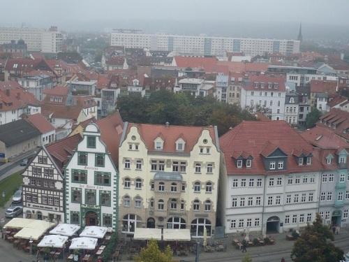 Domplatz Erfurt vom Riesenrad_55m_02