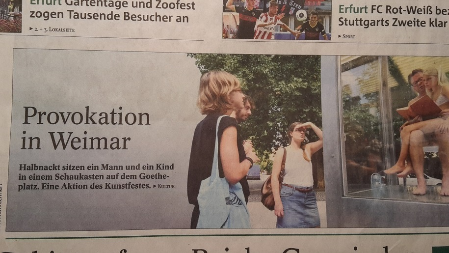 2015.09.04. Weimar 01 Kunstfest PresseMeldung 1