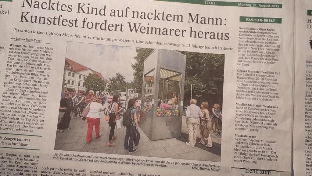 2015.09.04. Weimar 01 Kunstfest PresseMeldung 2