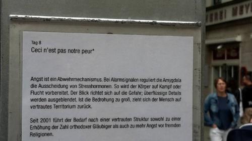 2015.09.04. Weimar 03 Kunstfest Tag 8 Goetheplatz