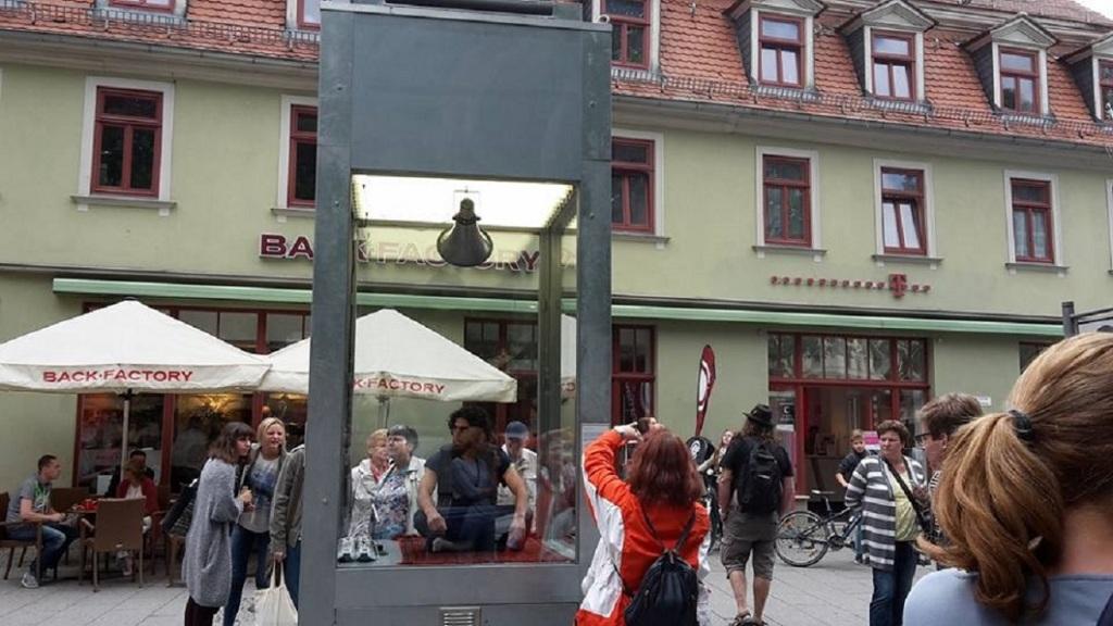 2015.09.04. Weimar 04 Kunstfest Tag 8 Goetheplatz