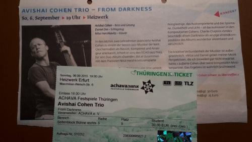 2015.09.06 AvachaFestspiele Thür _ 01 Jazz Eintritt