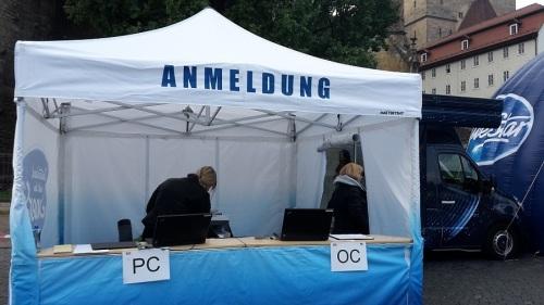 2015.09.11 D S D S - Casting in Erfurt 7 Meine AnFrage