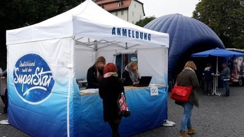 2015.09.11 D S D S - Casting in Erfurt 4 AnMELDUNG