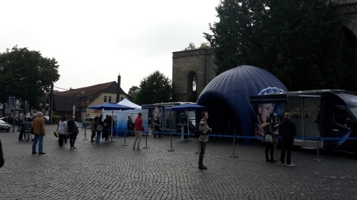 2015.09.11 D S D S - Casting in Erfurt 2 Verhaltene STIMMUNG
