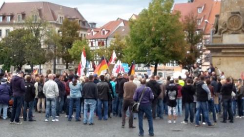 2015.09.16 AfD will Zeichen setzen, aber ... 04 Treff Domplatz