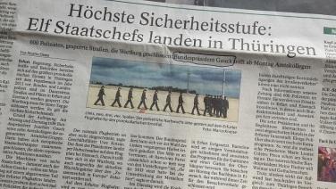 Heimsuchung Thüringens durch Gauck