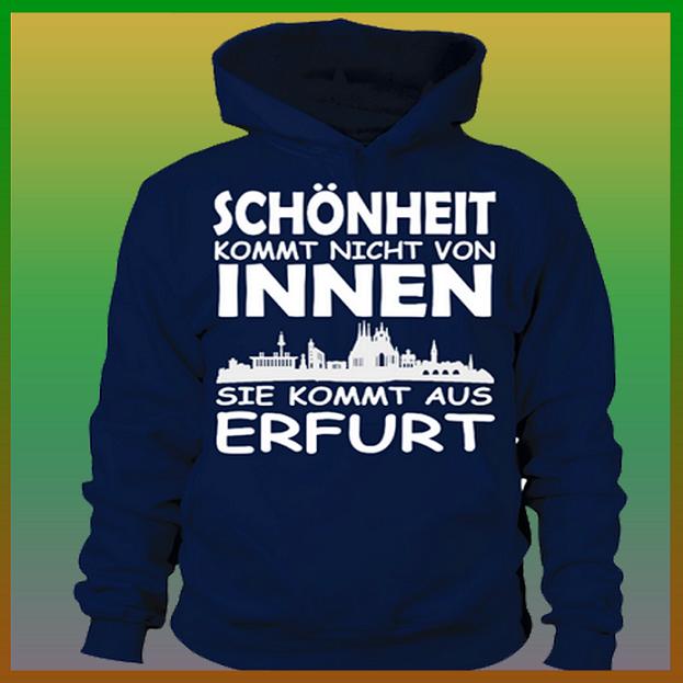 Erfurt ist s c h ö n _ Slogan