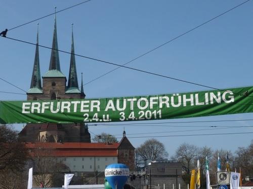 Erfurter AutoFrühling  2011 Domplatz
