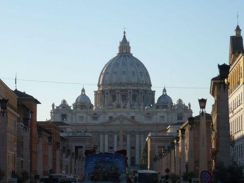 128 Blick auf den Petersdom