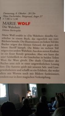 2015 EF BuchLese 06 Wahrheit _ M. Wolf