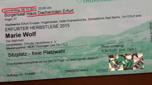2015 EF BuchLese 01 Wahrheit _ M. Wolf