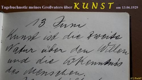 1887 - 1974 Erinnerung an meinen Opa Innedenksprüche Tgb 07