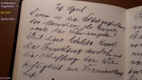 1887 - 1974 Erinnerung an meinen Opa Innedenksprüche Tgb 08