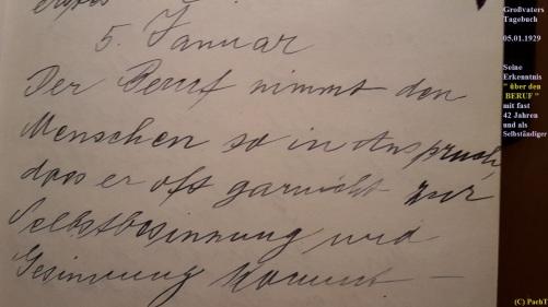 1887 - 1974 Erinnerung an meinen Opa Innedenksprüche Tgb 09