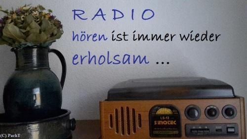 RADIO hören ist erholsam