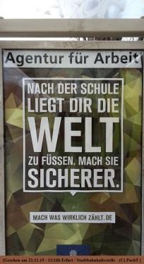 Werbung Bundeswehr statt Arbeitslosenheer