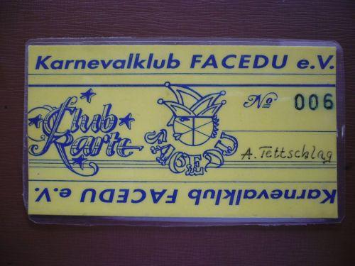 2012 Karneval FaCeDu 11 40 Jahre FaCeDu