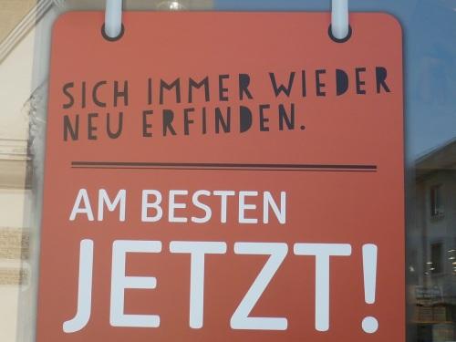 MutMacher-Slogan  Sich-Finden