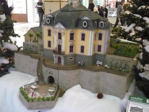 Weimar Schloss ETTERSBURG 3 Modell