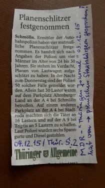 TA-Artikel zu Planenschlitzer 1 2015.04.16 Thür. Blog 07.12.15 Anfrage