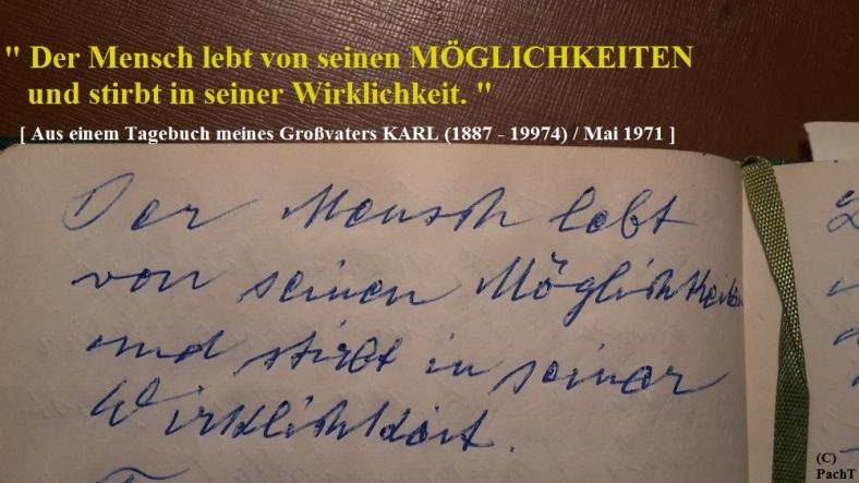 1887 - 1974 Erinnerung an meinen Opa Innedenksprüche Tgb 11
