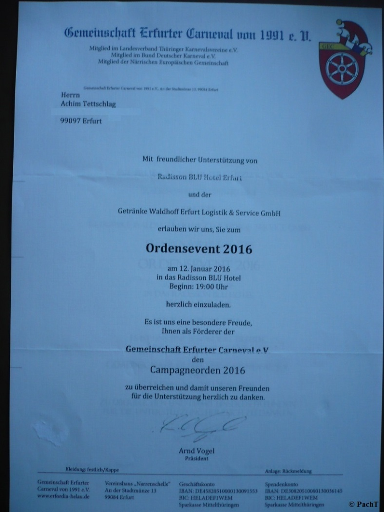 2016.01.12. GEC OrdensEvent 01 Einladung