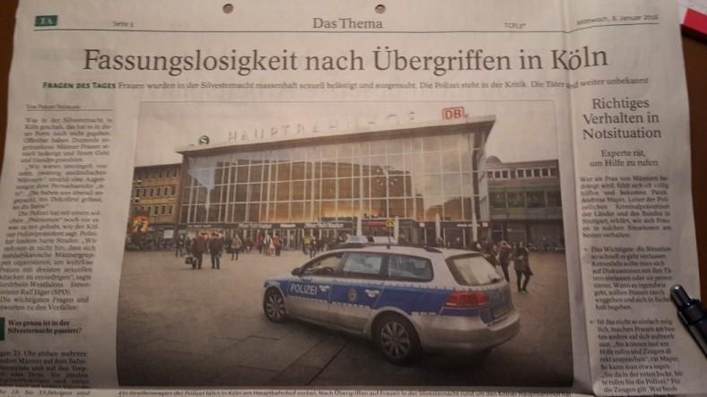 TA-Artikel zu ÜberGriffe in Köln 2 2016.01.05 Blog 2016.01.08