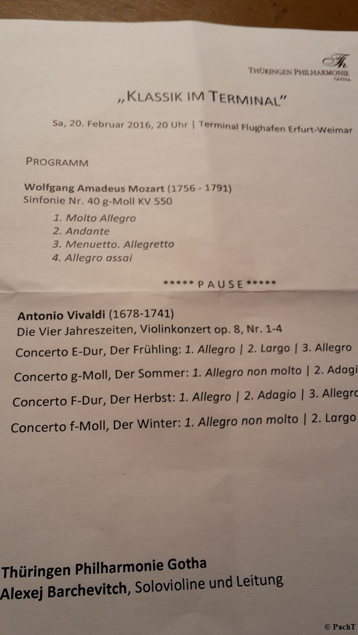 2016.02.20 Konzert FlughafenTerminal 04 Programm
