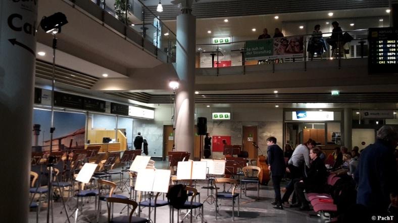 2016.02.20 Konzert FlughafenTerminal 07 Vor Beginn